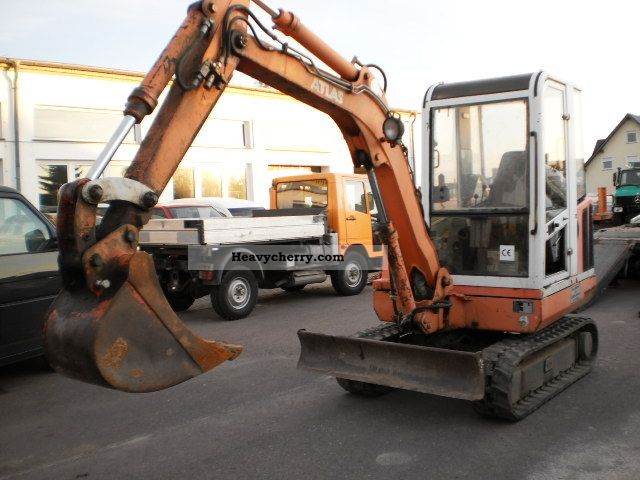 1998 Atlas  R604 Construction machine Mini/Kompact-digger photo