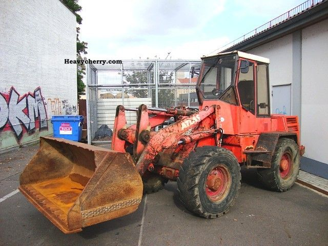 1992 Atlas  AR 62D wheel loader wheel loader GGw 6.3 tons. Construction machine Wheeled loader photo