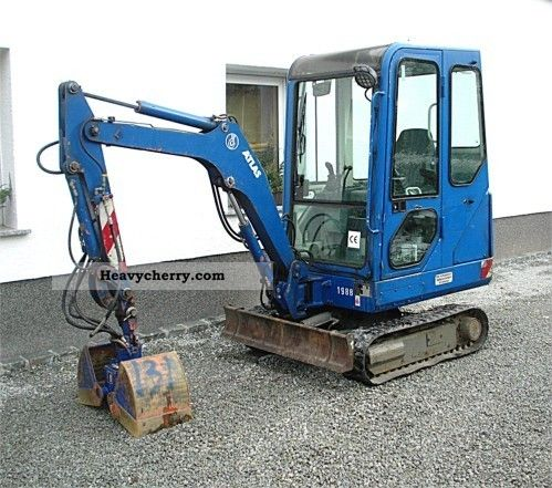 1999 Atlas  AB 404 RT + Verstellfahrwerk Construction machine Mini/Kompact-digger photo