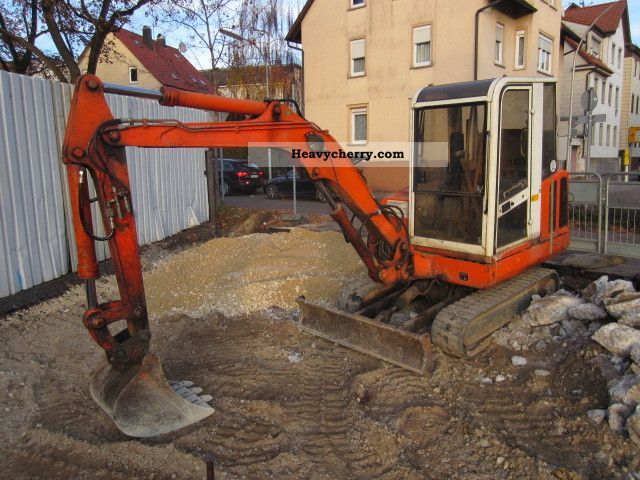 1992 Atlas  804 R grapple hydraulic hammer bucket Construction machine Mini/Kompact-digger photo