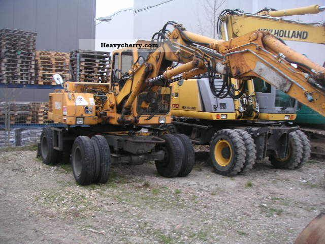 1993 Atlas  1104 Construction machine Mobile digger photo