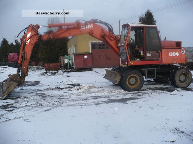 2011 Atlas  1304 Construction machine Mobile digger photo