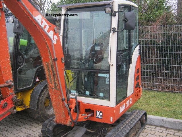 2004 Atlas  PM 21R Construction machine Mini/Kompact-digger photo