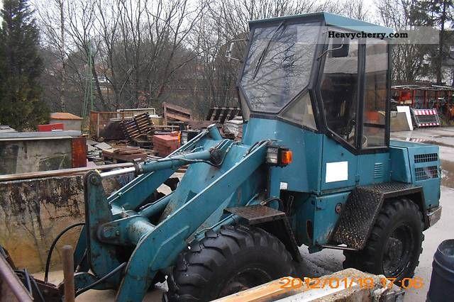 1992 Atlas  46 C Construction machine Wheeled loader photo