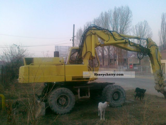 1991 Atlas  1604 Construction machine Mobile digger photo