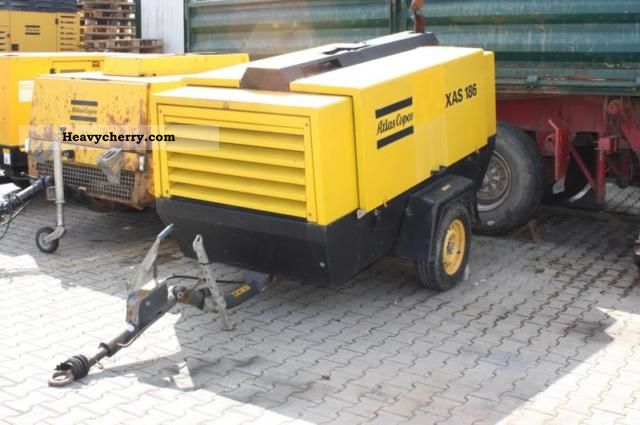 2000 Atlas  Copco XAS 186 compressor Construction machine Other construction vehicles photo