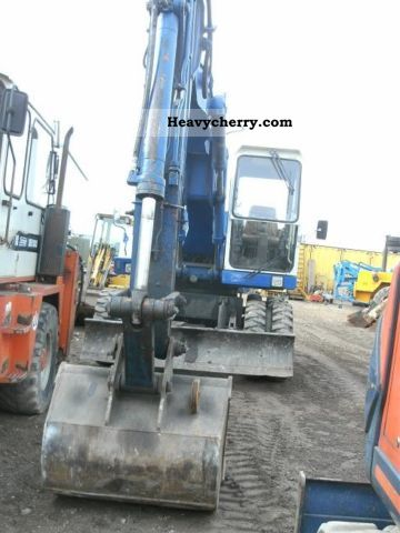 1988 Atlas  1404 Construction machine Mobile digger photo