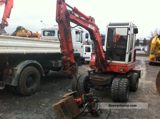 1998 Atlas  Gripper 804 / 3800 h! / 4x4 / 1.HAND / TOP! Construction machine Mobile digger photo