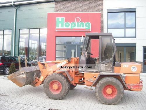 1992 Atlas  72 C Construction machine Wheeled loader photo