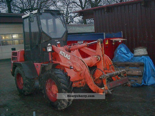 1996 Atlas  AR 52E / 2 Construction machine Wheeled loader photo