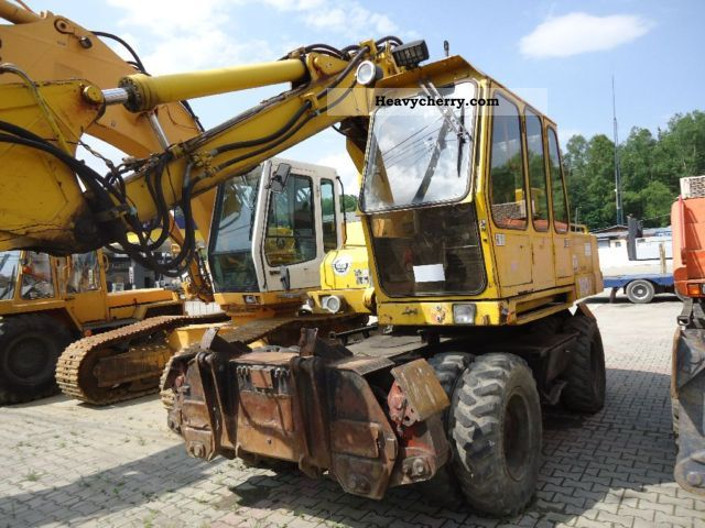 1994 Atlas  1604KZ NA Części Construction machine Mobile digger photo