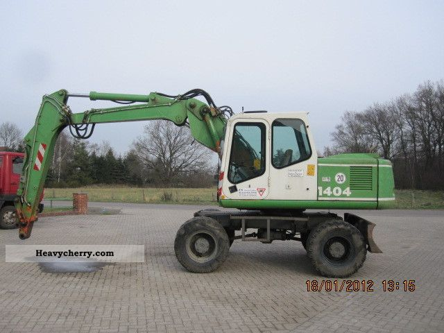 1996 Atlas  1404 Construction machine Mobile digger photo