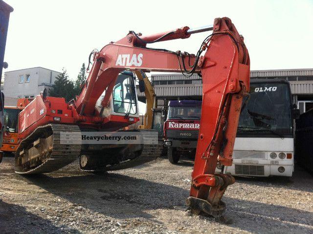 1995 Atlas  1604 LC 21 tons / 7800H / NEW engine / TOP! Construction machine Caterpillar digger photo