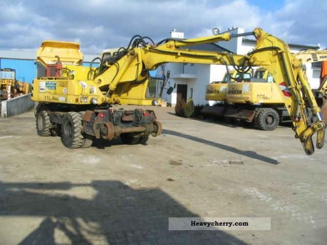 1994 Atlas  1604 ZW Construction machine Mobile digger photo
