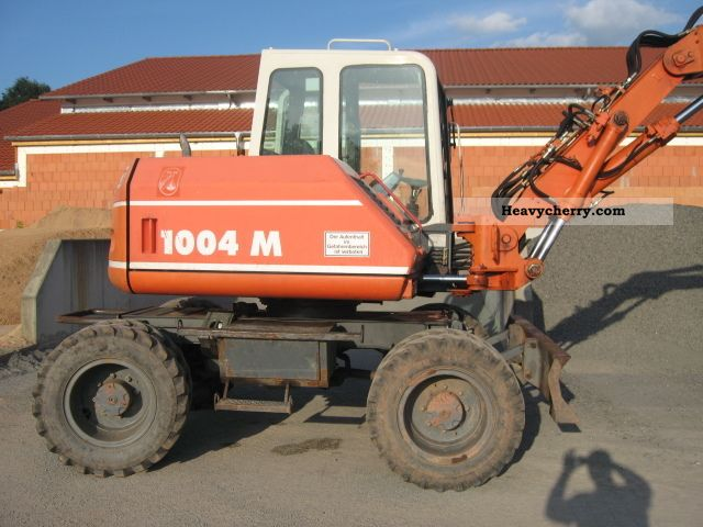 2002 Atlas  1004 Construction machine Mobile digger photo