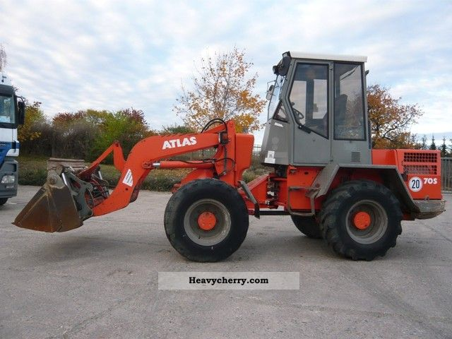 2003 Atlas  70S, AR65, built 2003 folding shovel and PLG Construction machine Wheeled loader photo