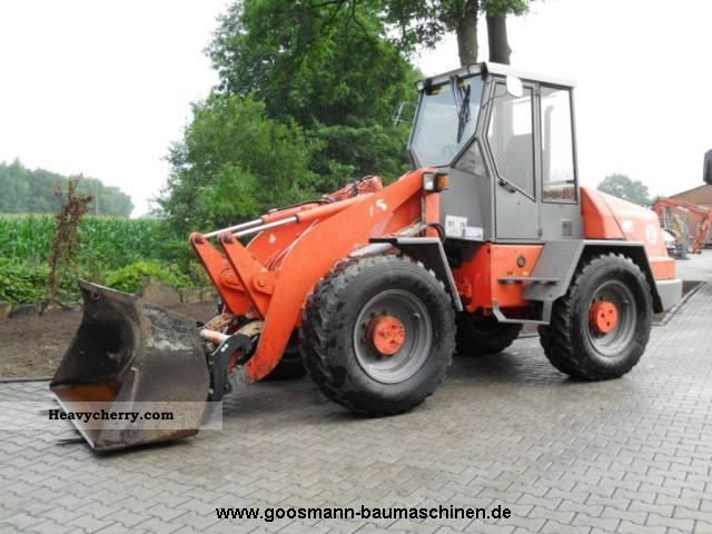 2000 Atlas  AR86 Turbo Construction machine Wheeled loader photo