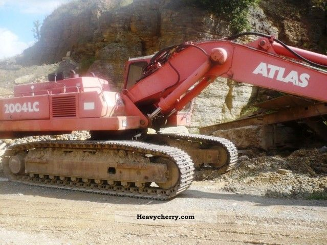 1992 Atlas  2004 to 37.5 Bj.92 chain Construction machine Caterpillar digger photo