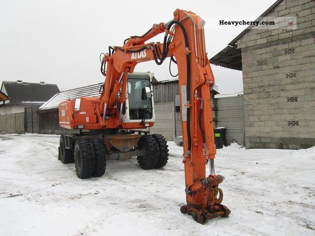 1998 Atlas  1504 Construction machine Mobile digger photo