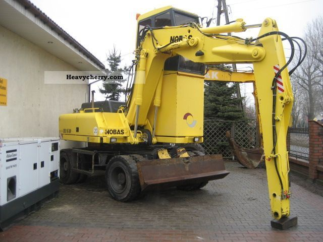 2000 Atlas  NOBAS UB 16 M Construction machine Mobile digger photo