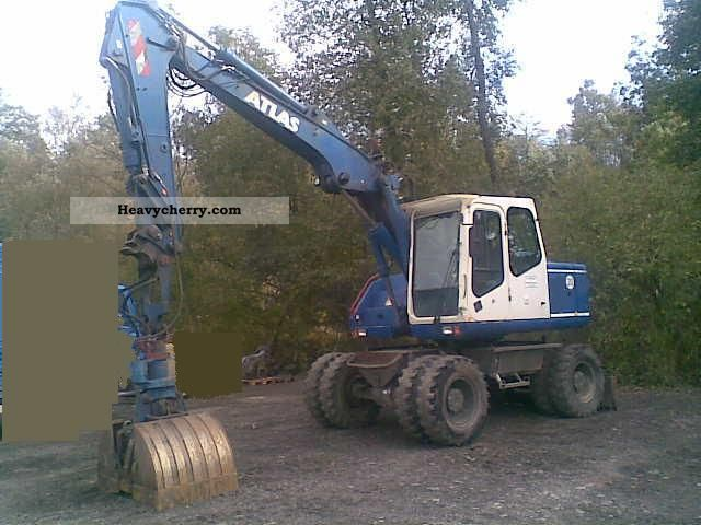 2000 Atlas  1404 Construction machine Mobile digger photo