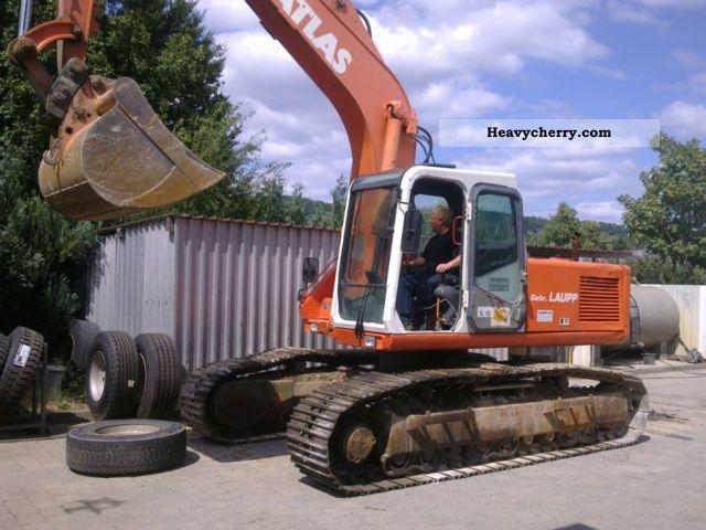 1995 Atlas  1604 LC Construction machine Caterpillar digger photo