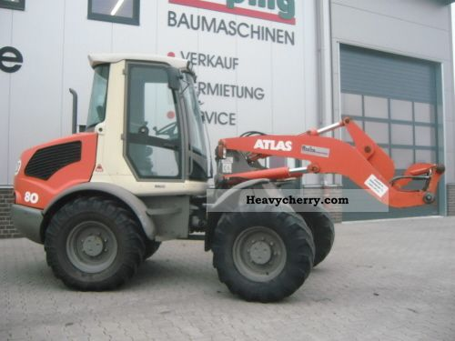 2000 Atlas  80 Construction machine Wheeled loader photo