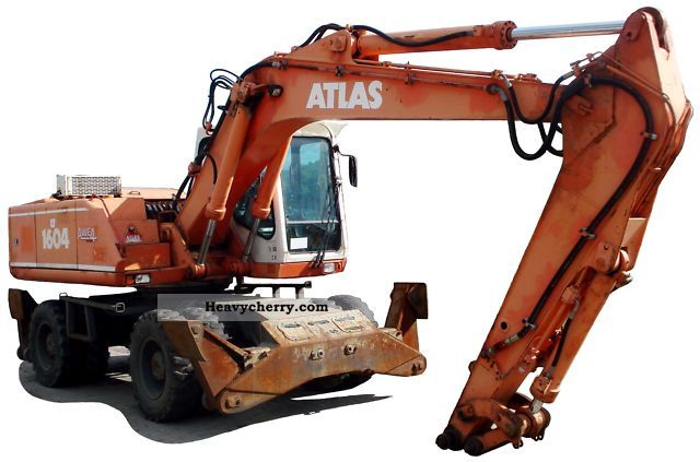 1999 Atlas  1604 Construction machine Mobile digger photo