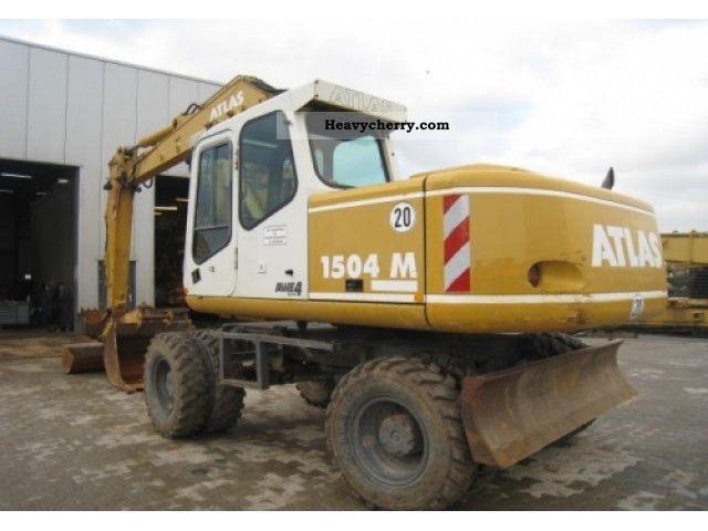 2001 Atlas  AB1504 Construction machine Mobile digger photo