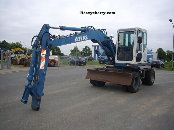 2002 Atlas  1104 Construction machine Mobile digger photo