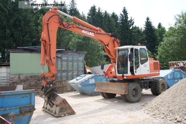 1997 Atlas  1604K Construction machine Mobile digger photo