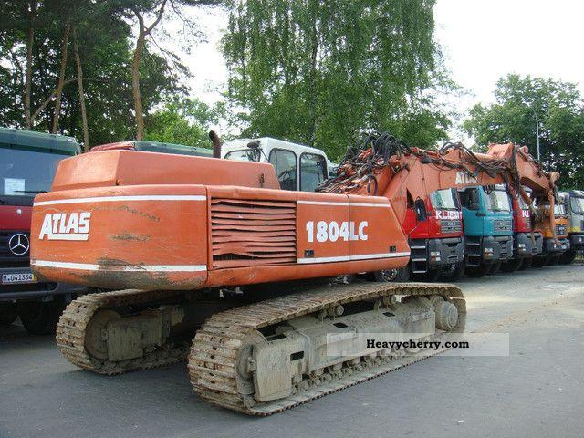 2001 Atlas  1804 LC Construction machine Caterpillar digger photo