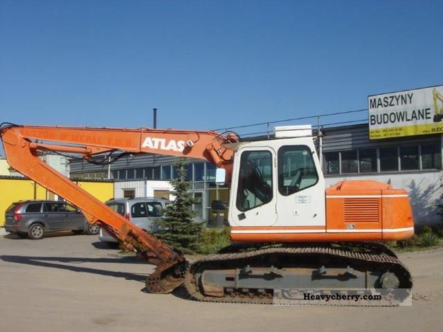 1998 Atlas  1504LC Longreach Construction machine Construction Equipment photo