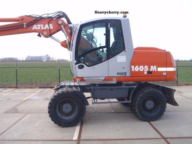 2006 Atlas  1605M AWE5 Construction machine Mobile digger photo