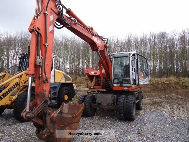2005 Atlas  M 1605, Year 05, 4600 operating hours, hydr. VA, SW, TL Construction machine Mobile digger photo