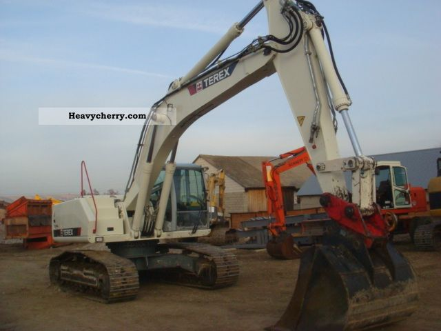 2007 Atlas  Terex TC 240 LC Construction machine Construction Equipment photo