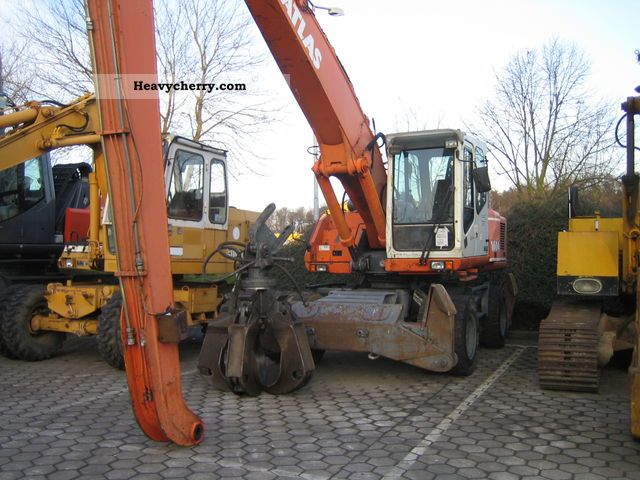 2001 Atlas  1604 Construction machine Mobile digger photo