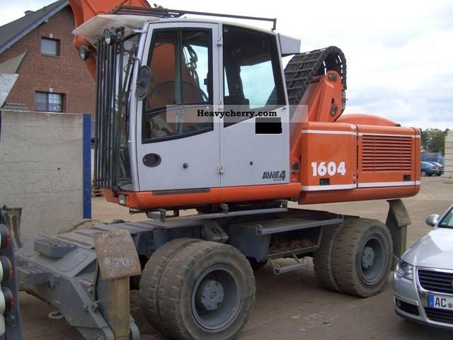 2003 Atlas  1604 Construction machine Mobile digger photo