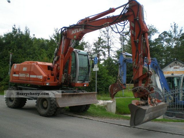 2011 Atlas  1605 Klima.Topzustand Construction machine Mobile digger photo