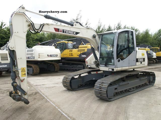 2008 Atlas  1305 LC Construction machine Caterpillar digger photo