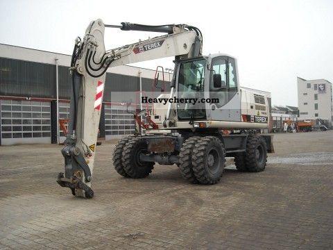 2007 Atlas  ATLAS-TEREX TW 190 Construction machine Mobile digger photo