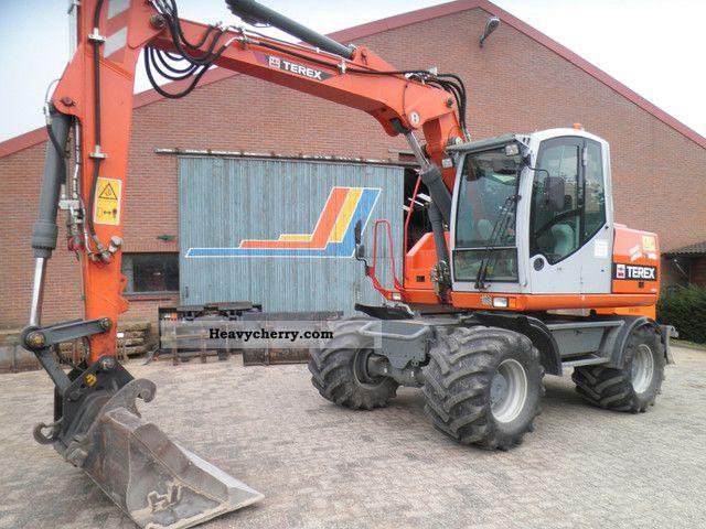 2008 Atlas  TW 140 Construction machine Mobile digger photo