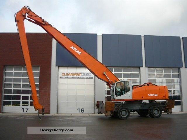 2003 Atlas  C 94.6 ton Terex 5005 I 57! Construction machine Mobile digger photo