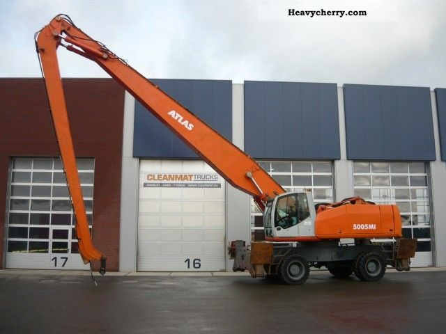 2003 Atlas  C 94.6 ton Terex 5005 I 57! Construction machine Other construction vehicles photo