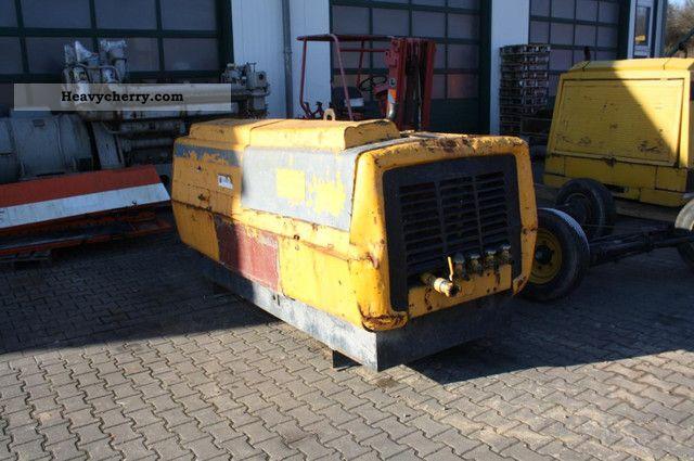 1984 Atlas Copco  Compressor XAS 160 DD Construction machine Other construction vehicles photo