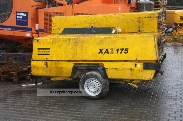 1990 Atlas Copco  Compressor XAS 175 DD Construction machine Other construction vehicles photo