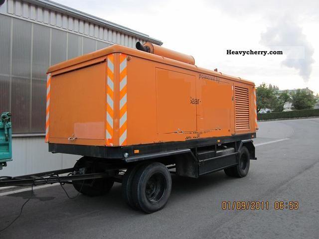 1984 Atlas Copco  ** Stromaggregat/330 KVA / Mercedes V12 engine ** Construction machine Other construction vehicles photo