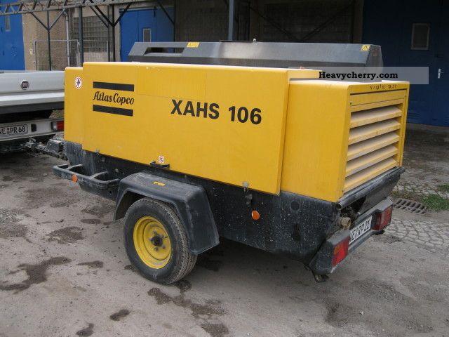 2006 Atlas Copco  XAHS 12bar compressor 106 Construction machine Other construction vehicles photo