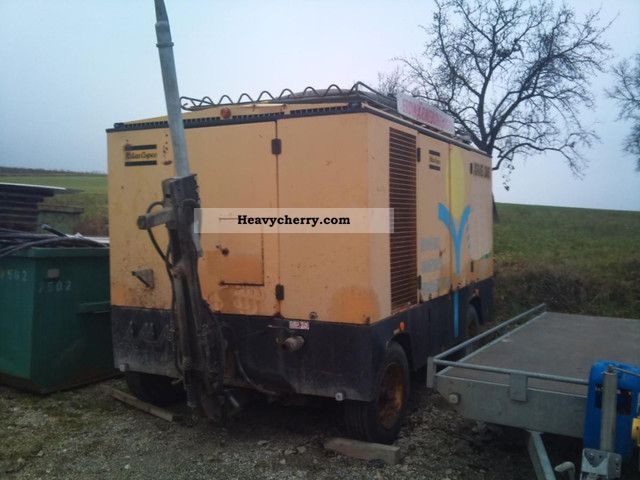 2000 Atlas Copco  XRVS compressor 25 bar Construction machine Other construction vehicles photo