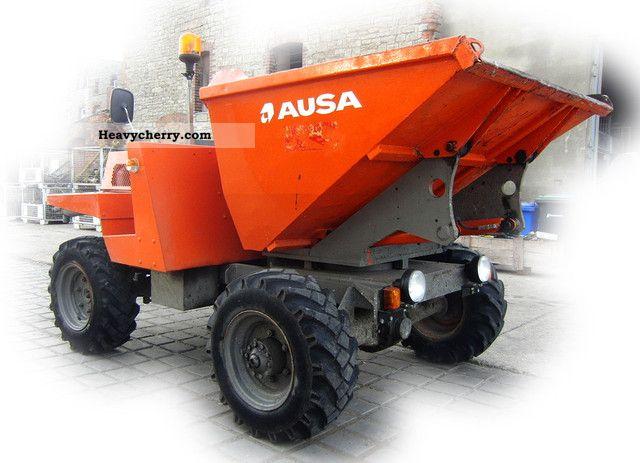 2000 AUSA  Ausa dumper wheel 300 Deutz engine Seitenk 4x4 3 Construction machine Other construction vehicles photo